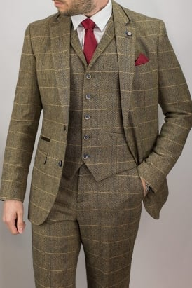 Cavani Albert Tweed Suit Jacket