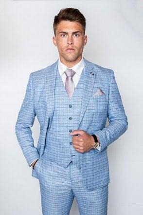 4bb4ceed6dd Cavani Madison Suit Light Blue (Full Size Range In Store )