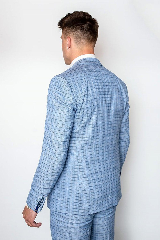 Cavani Madison Suit Light Blue (Full Size Range In Store )