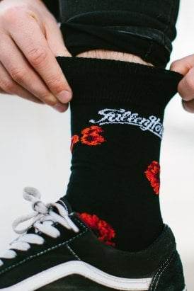 Fallen Hero SSAFA Charity Poppy Socks