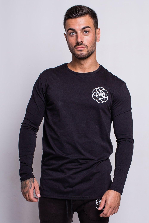 f2aa74ea8 Scar Tissue Core Long Sleeve T-Shirt - Black - Departments from Fallen Hero  UK